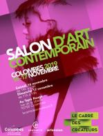 Colombes salon d art contenporain 2019 nov