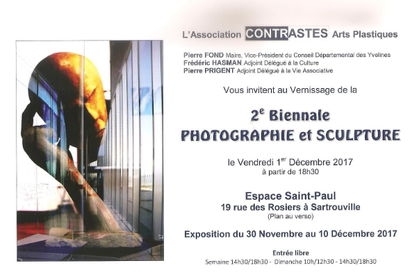 2eme biennale photographie et sculpture